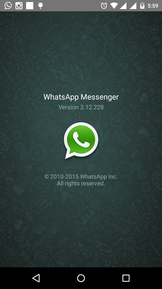 WhatsApp Version